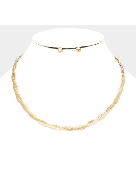 Flat Lay Necklace Set