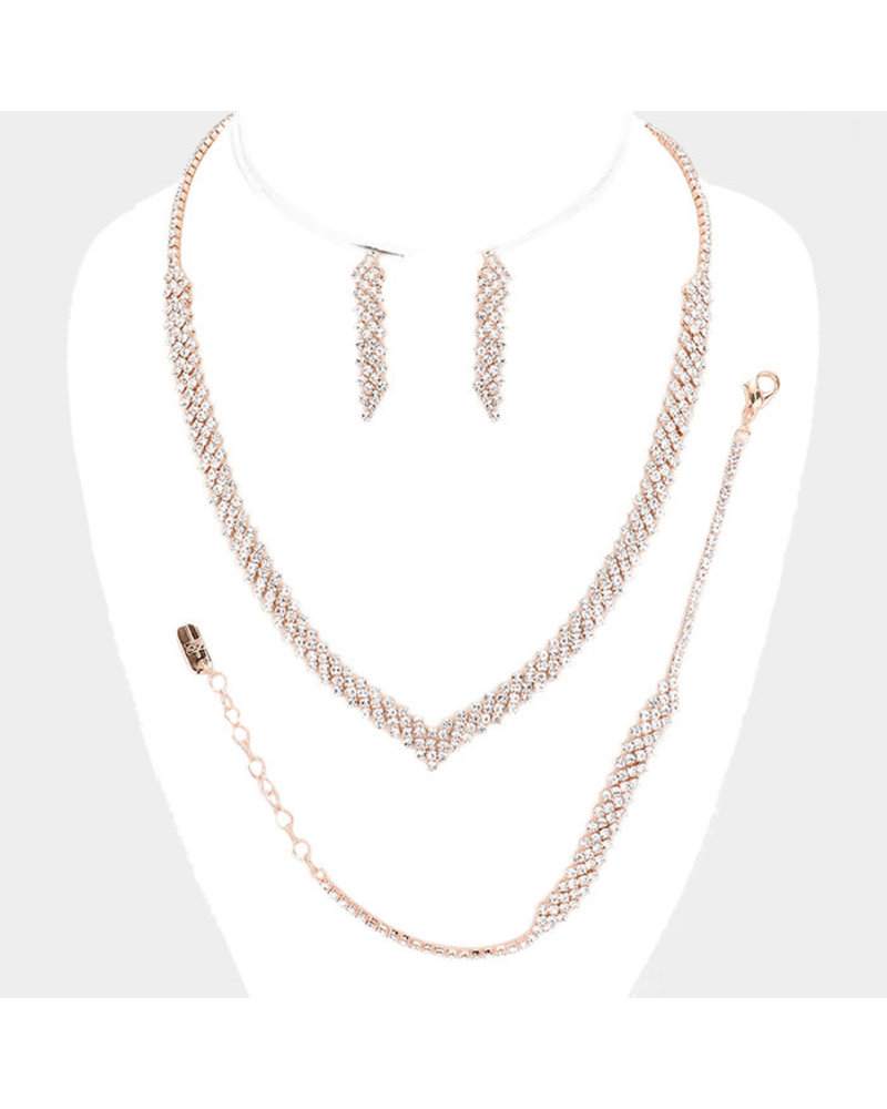 Just A Touch Necklace Set