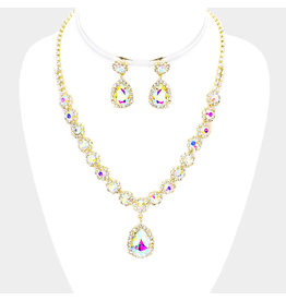 Beauty Jewel Necklace Set