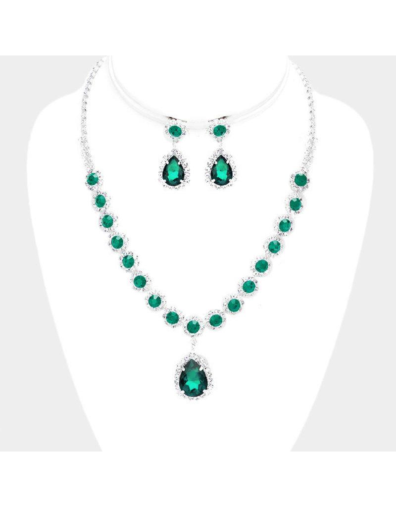 Beauty Jewel Necklace Set