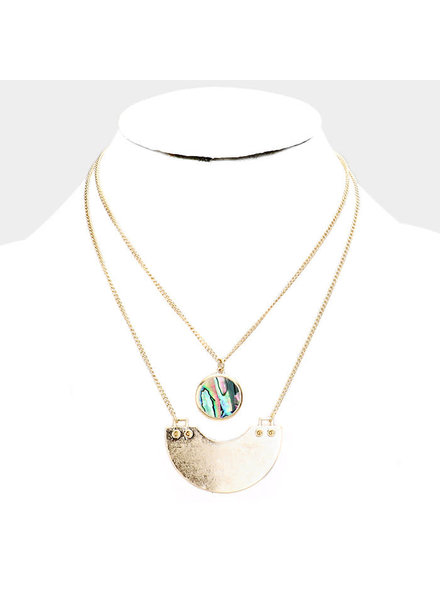 Steady Anchor Necklace