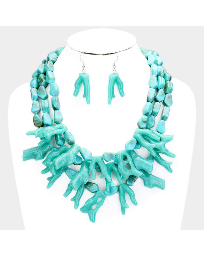Island Trip Necklace Set