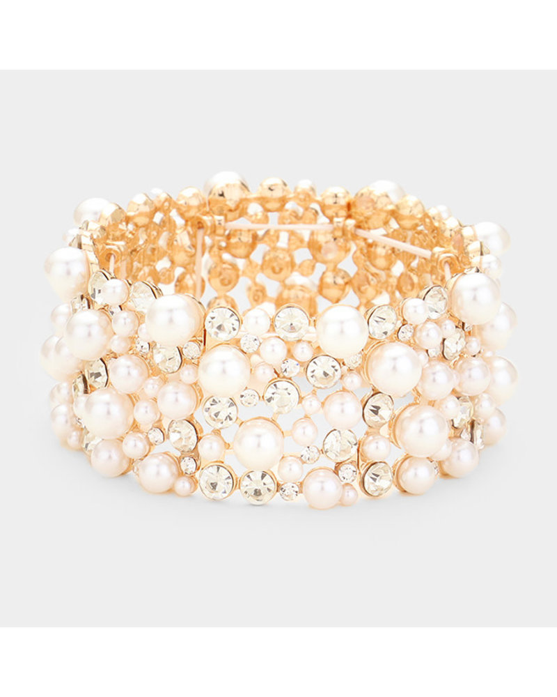 Dotted Pearl Bracelet