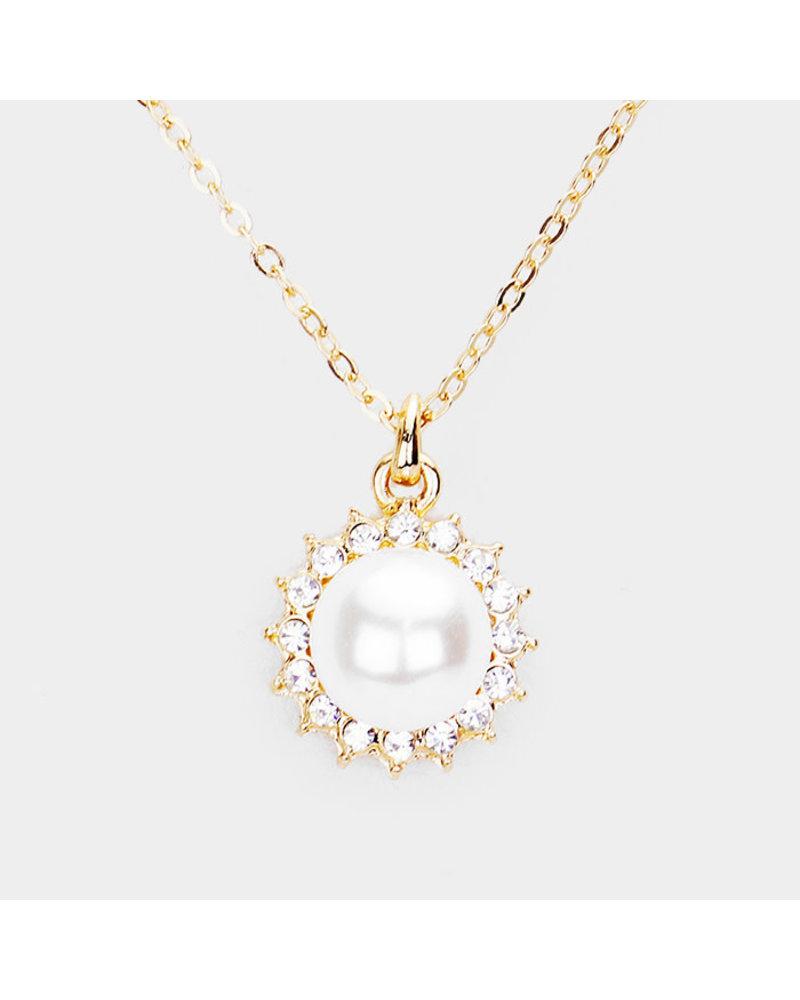 Precious Petite Pearl Necklace