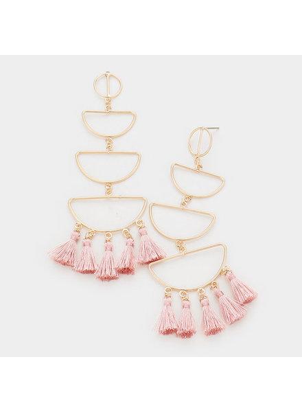 Tassel Tiers Earrings