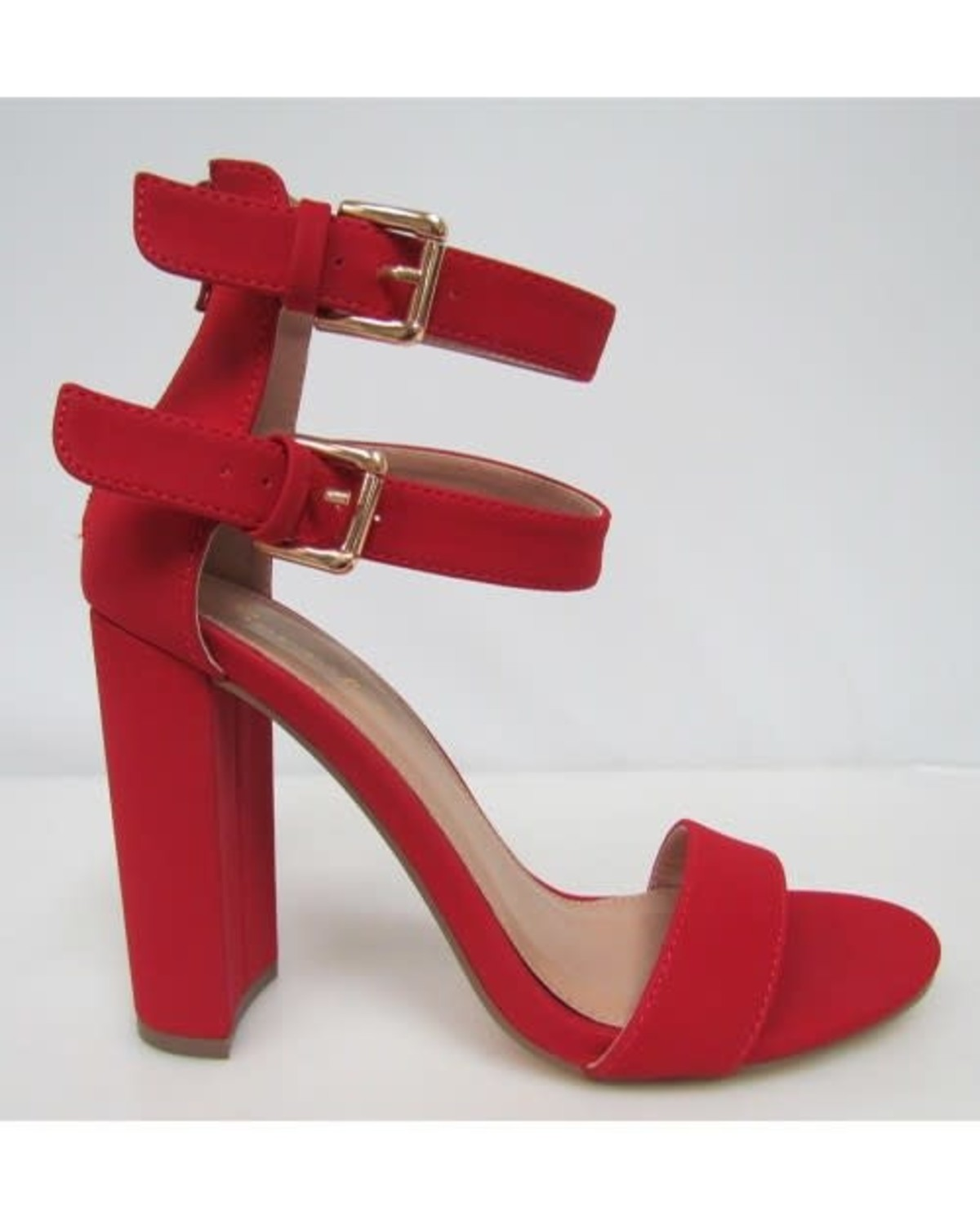 Good Times Block Heels Red