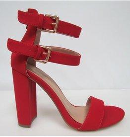Good Times Block Heels Red