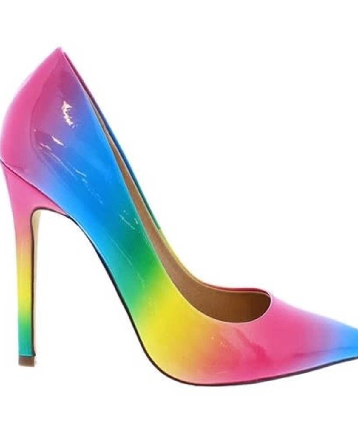 Dream On Rainbow Pumps