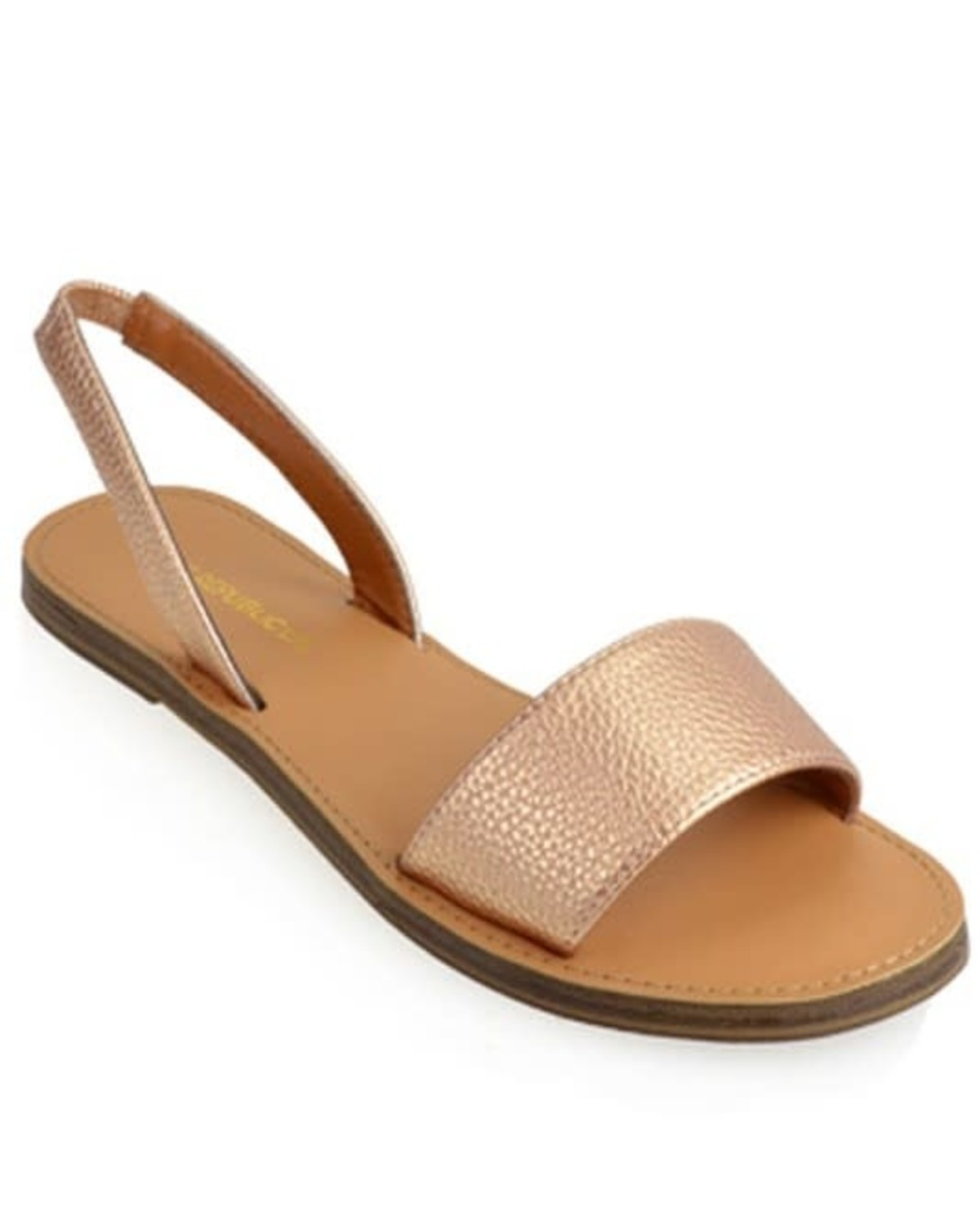 Watch Your Step Sandals Rose Gold