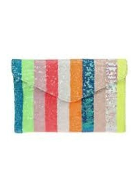 Rainbow Delight Clutch