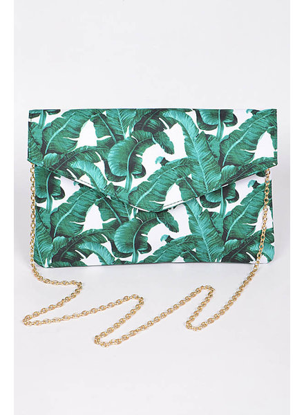 Jungle Leaves Clutch