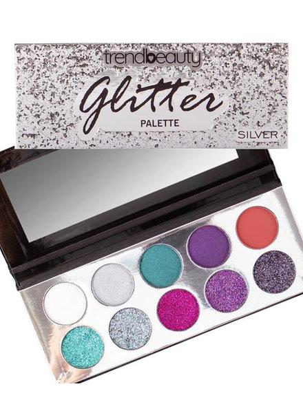 Silver Glitter Palette