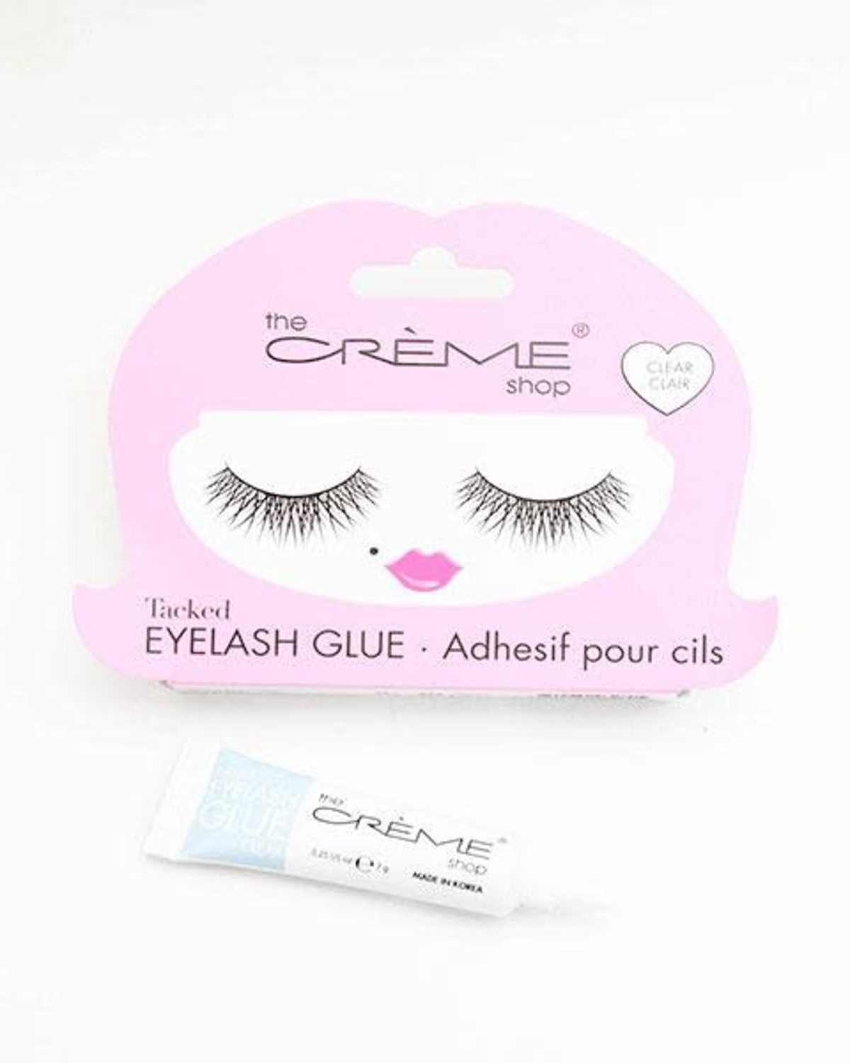 Tacked Eyelash Glue (Clear)