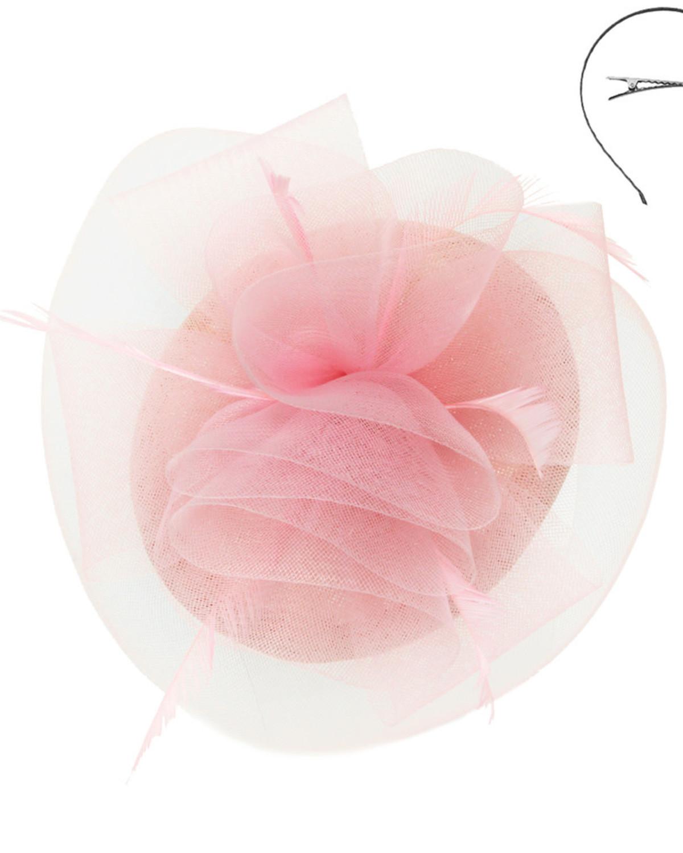 Crowning Glory Fascinator Pink