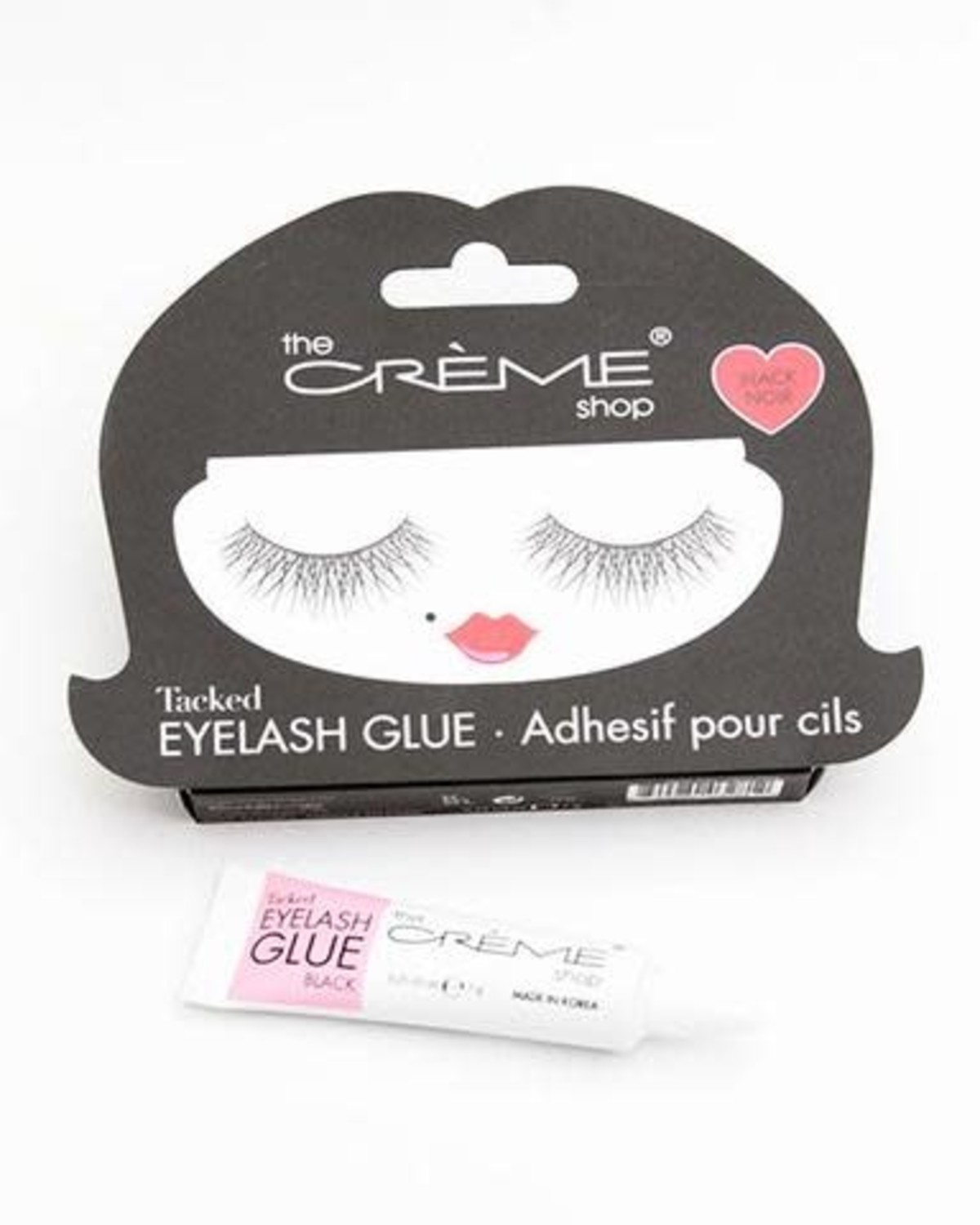 Tacked Eyelash Glue (Black)