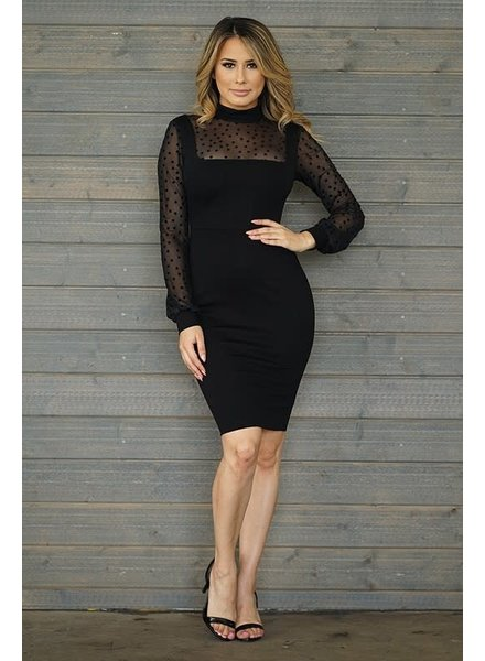 Zoned Out Mesh Dress