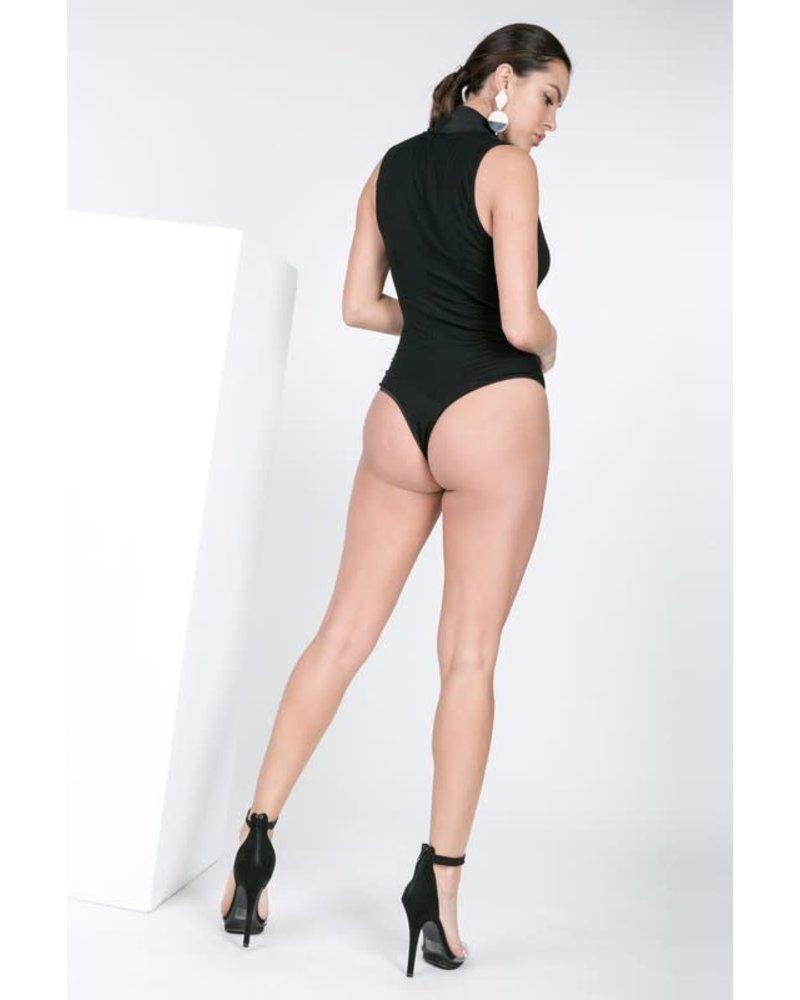 Set It Off Bodysuit Black