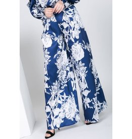 Winter's Gone Floral Palazzo Pants