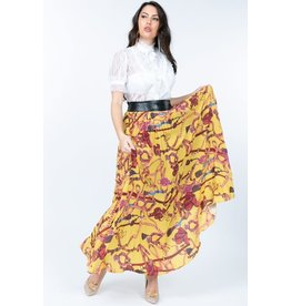 Summer Breeze Pleated Skirt