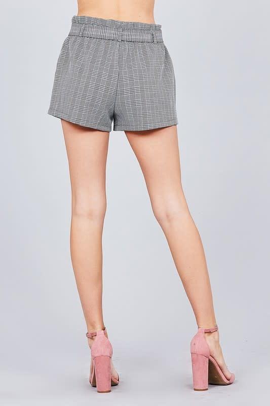 Check Me Tie Shorts