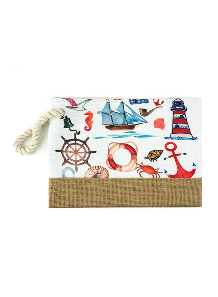 Seaside Wristlet