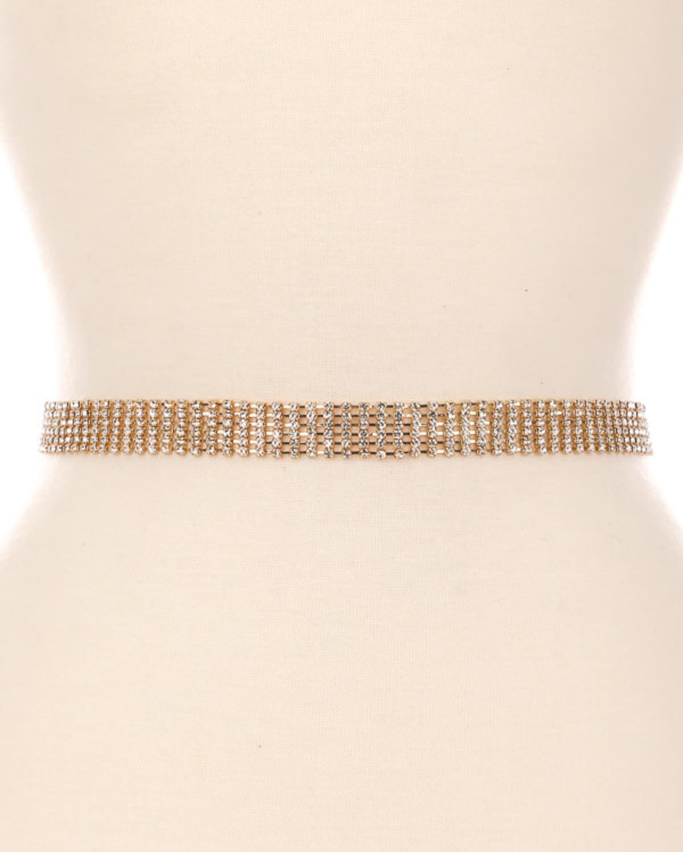 5 Bling Chain Belt
