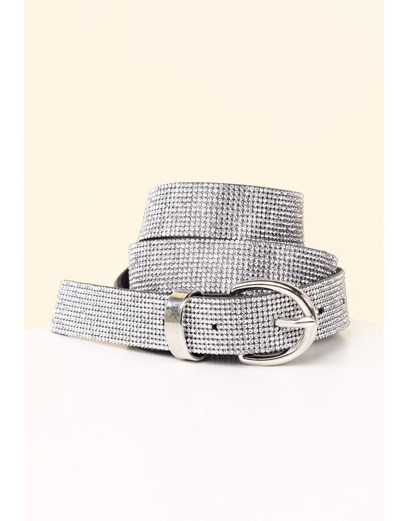All Bling Belt