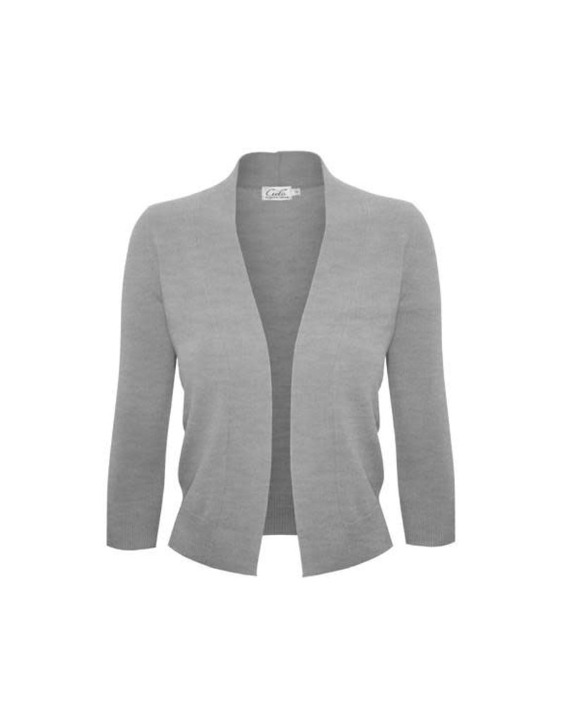 Heather Grey Bolero
