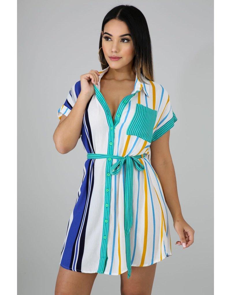 Keep It Cool Shirt Dress
