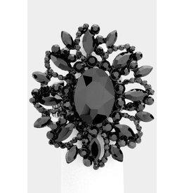 Bursting Glam Ring