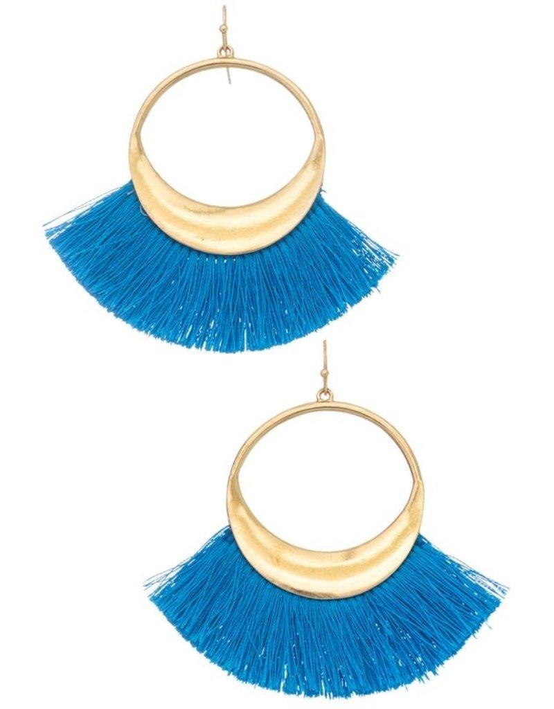 Tassel Spin Earrings