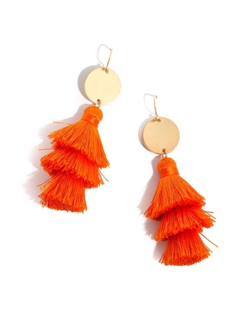 Layered In Tassel Earrings