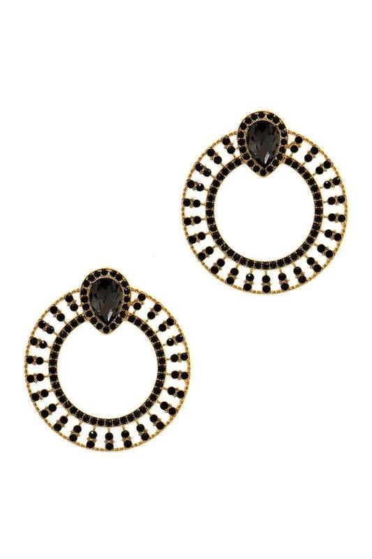 Dynamic Wheel Earrings