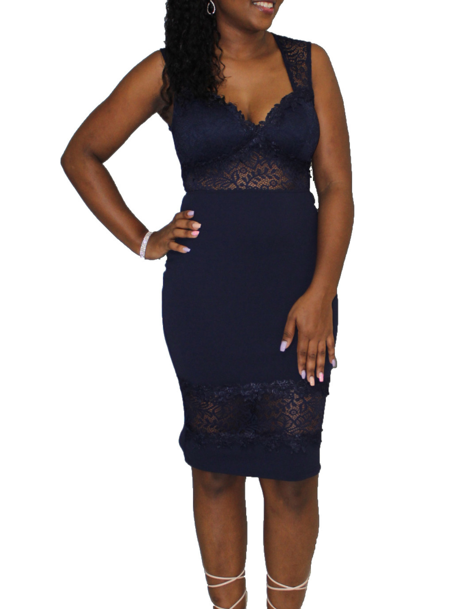 Boogie Nights Lace Dress