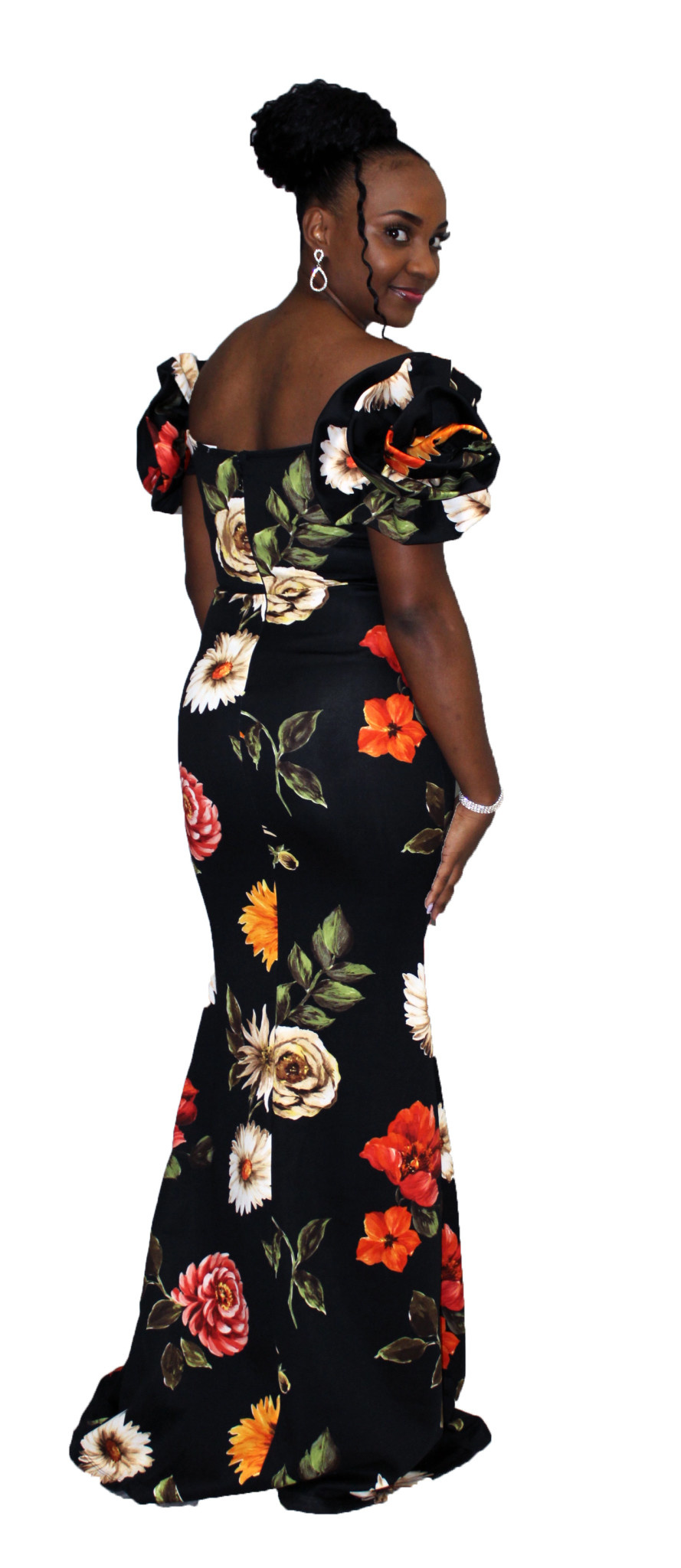 Exotic Nights Floral Maxi Dress