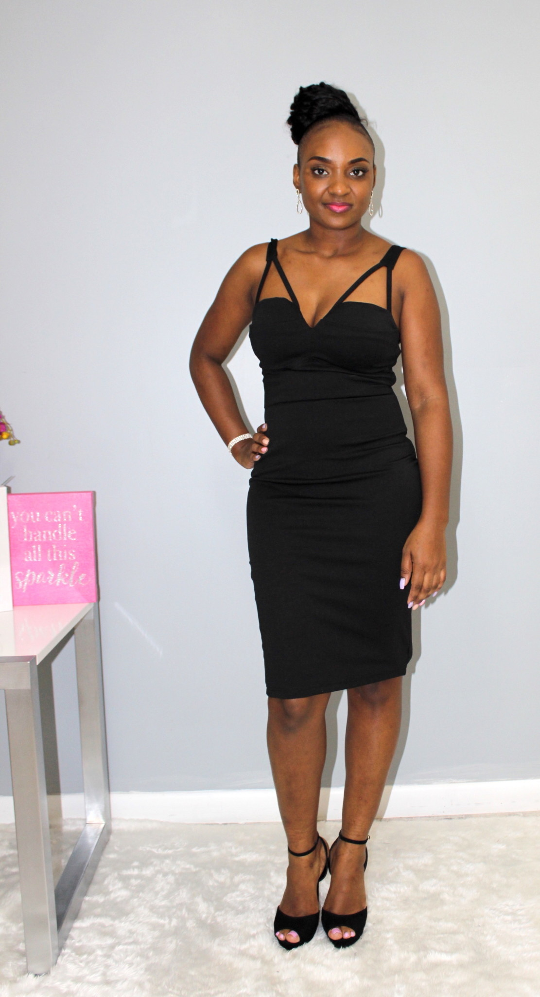 Can't Stop Me Now Bodycon Dress