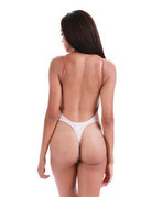 U Plunge Body Shaper Nude