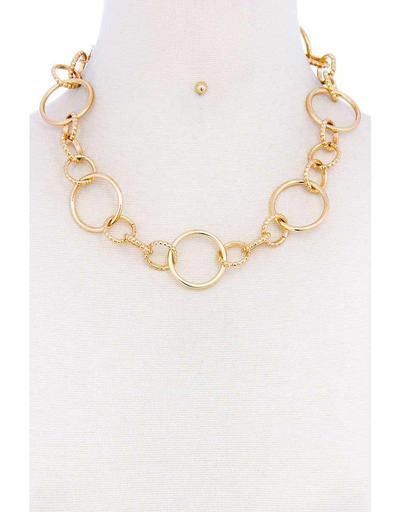 Links Necklace Set