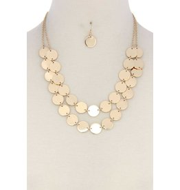 Circles of Mine Necklace Set