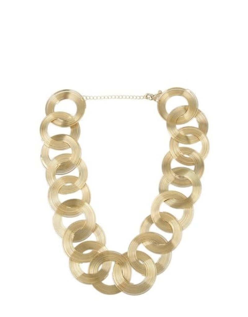 Threaded Circles Necklace