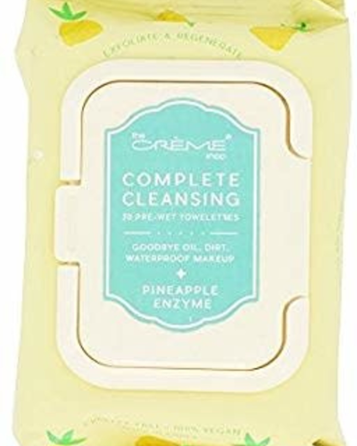 Pineapple Enzyme Make Up Cleansing Wipes