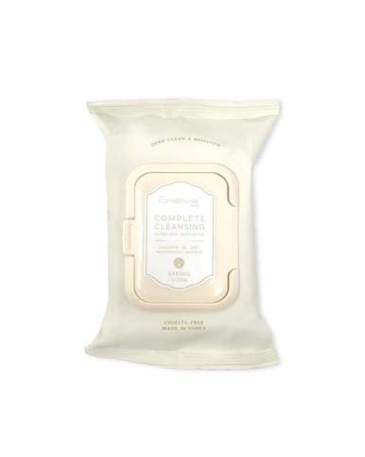 Baking Soda Make Up Cleansing Wipes
