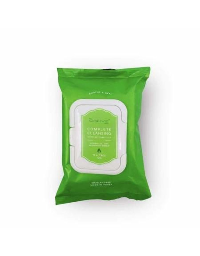 Tea Tree Oil Make Up Cleansing Wipes