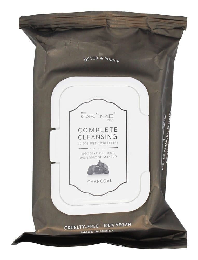 Charcoal Make Up Cleansing Wipes