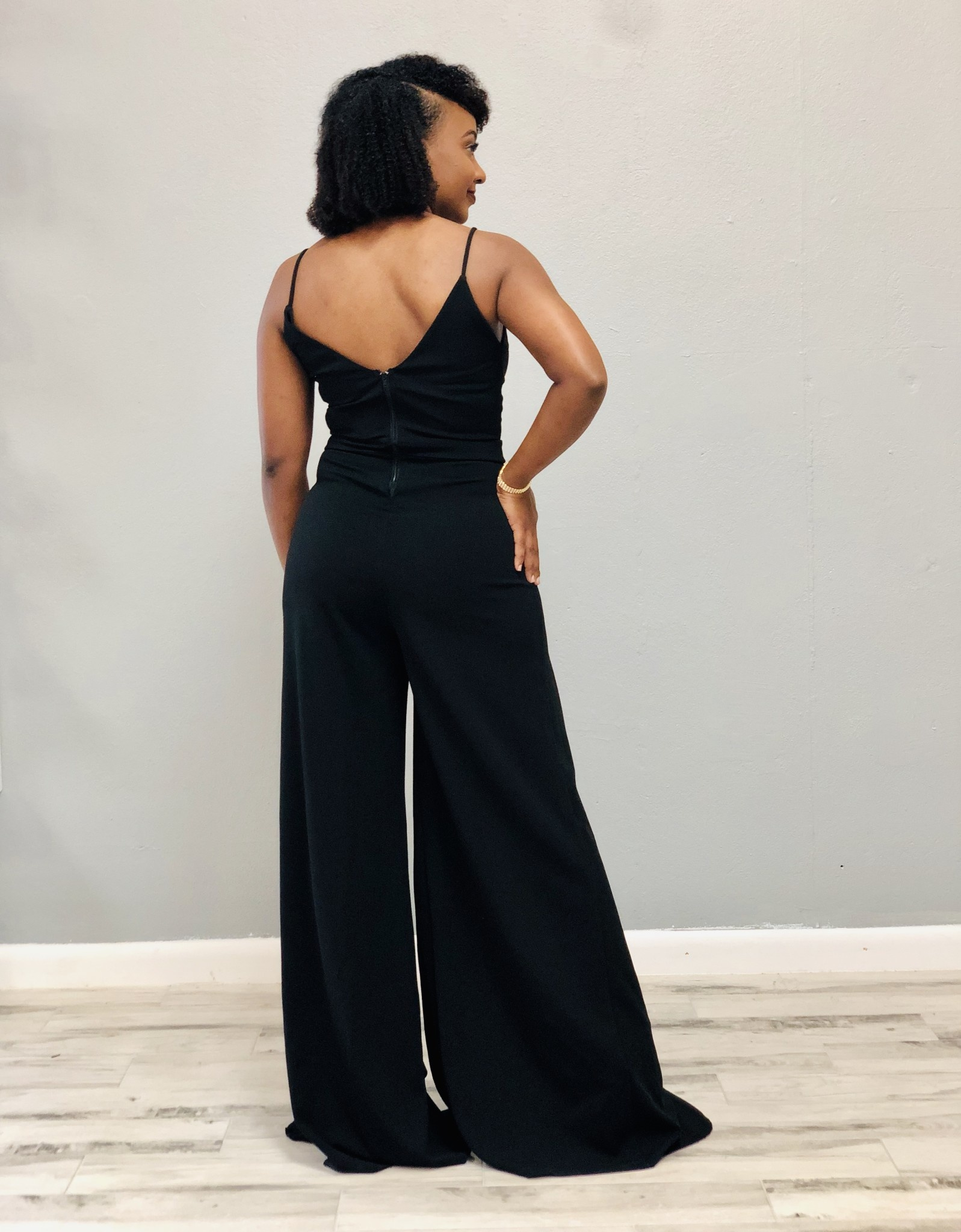 Large & In Charge Ruffle Jumpsuit