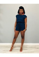 Free Time Romper Navy