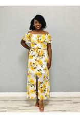 Sun So Bright Floral Dress