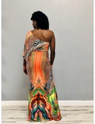 Hear Me Roar Animal Maxi Dress