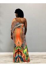 Hear Me Roar Animal Maxi Dress