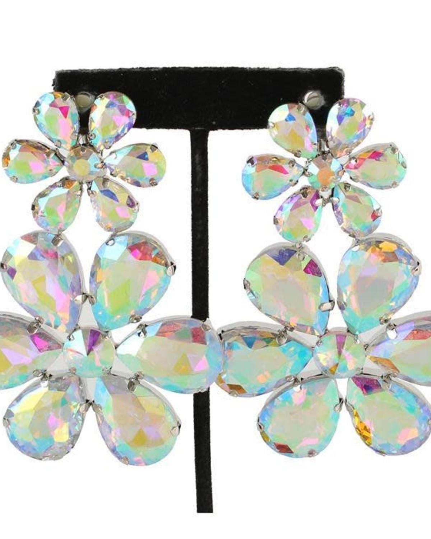 La Petal Earrings (CLIP ON)
